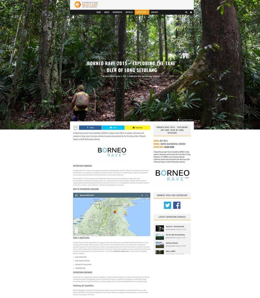 Borneo RAVE 2015